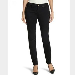 So Slimming by Chicos Black Skinny Jeggings